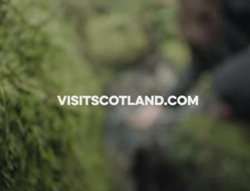 VisitScotland & Fifty Films 'Come Along' to Swanston Farm